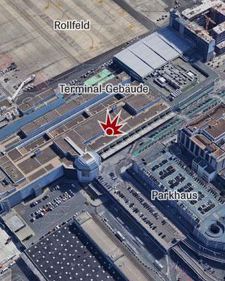 Flughafen Brüssel-Zaventem, Karte