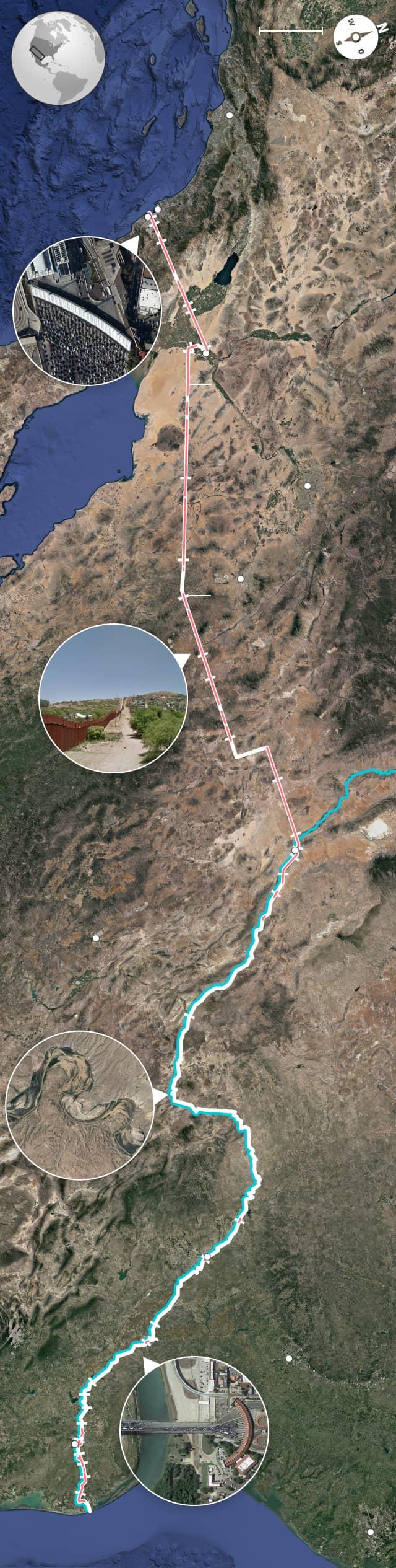 Grenze Usa Mexiko