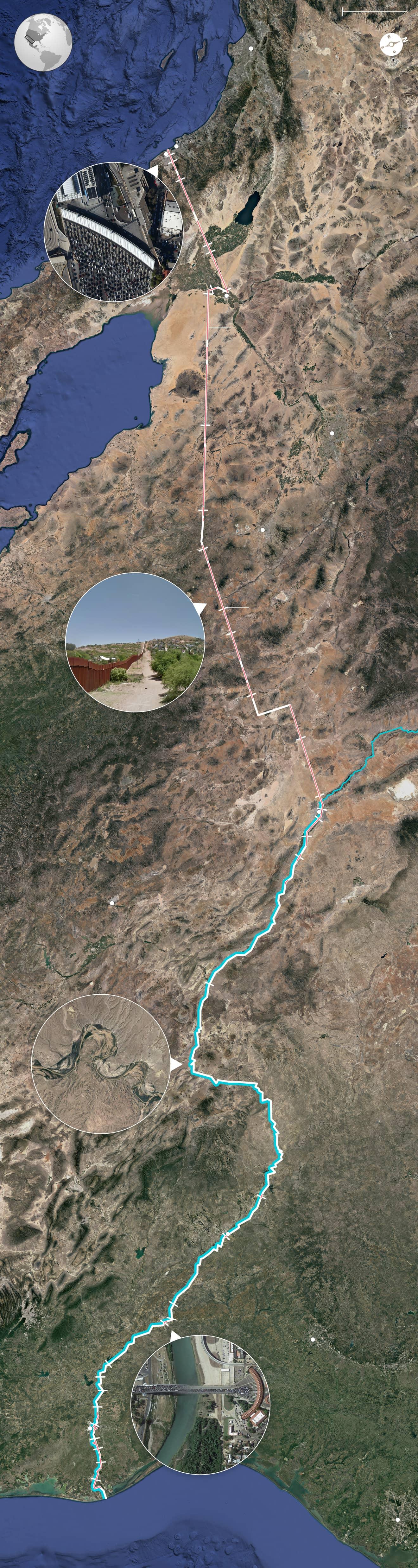 Grenze Zu Mexiko Am Zaun Des Todes Zeit Online