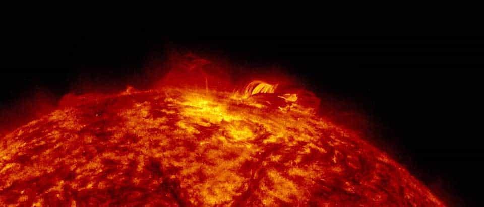 Animation Sonne Explosion