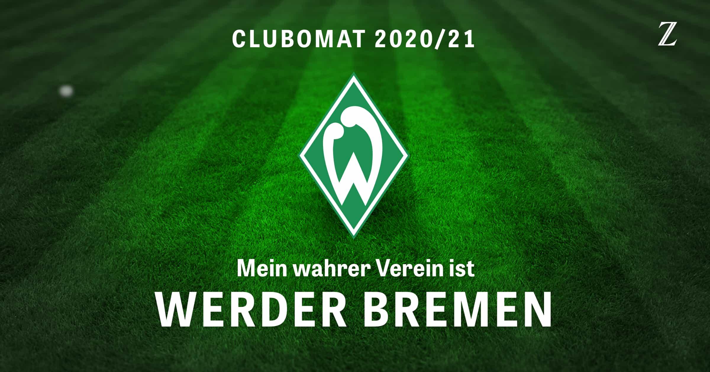 Club-O-Mat: Mein wahrer Verein ist Werder Bremen